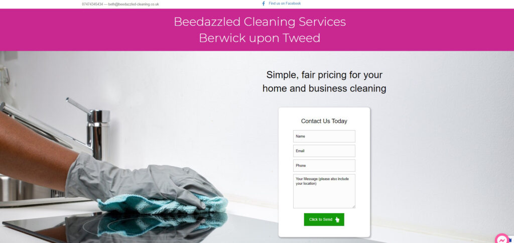 Beedazzled Cleaning Services  -    www.beedazzled-cleaning.co.uk