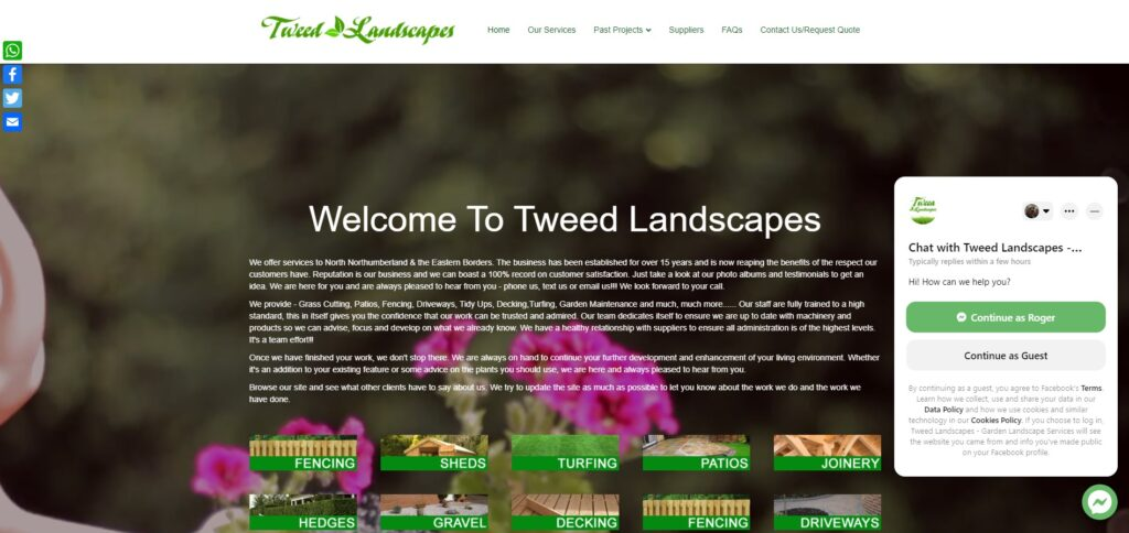 Tweed Landscapes  -    www.tweedlandscapes.co.uk